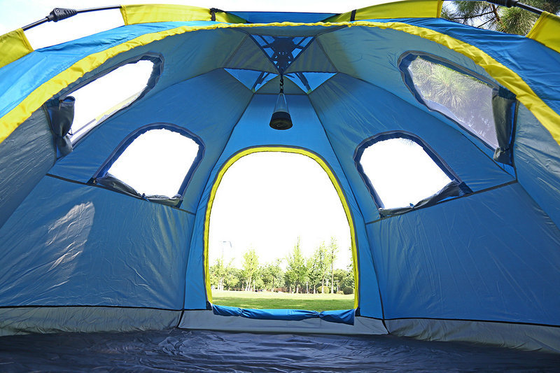 Outdoor Fishing Automatic Tent Camping Garden Picnic Set Hunting Roof Tent Tabernacle Beach Windbreak Fiberglass Pole (13)