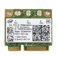 Для Intel 6300 Беспроводной-N 450 Мбит/с Wi-Fi 2,4 г/5 ГГц Половина Mini PCI-e карты для IBM ThinkPad Lenovo X200 X220 X230 T410 T520(China)