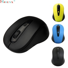 Mosunx 2.4G Mice Optical Mouse Cordless USB Receiver PC Computer Wireless For Laptop Mouse 0222(China)