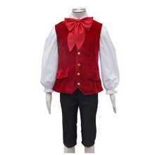 2017 Movie Beauty and the Beast Lefou Cosplay Costumes Men Outfit  Halloween Carnival Clothing Custom Made T374152