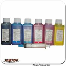 iTAATOP Water Pigment Ink for Blank Hydrographic Film 100ML X6 color Blank Film Pigment Ink(China)