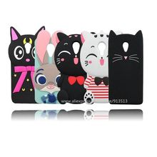 Hot Selling Moon Cat Judy Ice Cream Cupcakes Beard Cat Cute Silicone Cell Phone Cover Case For Meizu MX6(China)