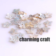 Star Natural Shell Sewing Buttons for Scrapbooking craft Fashion Accessories 50pcs 13mm YKL0297x