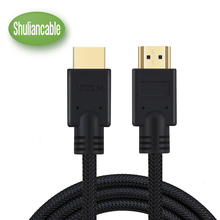 HDMI Cable 1m 2m 3m 5m High Speed 4K HDMI Cord 2.0V 60Hz, 18 Gbps, Support Ethernet 3D 2160p 1440p 1080p For DVD,TV,Home Theater(China)