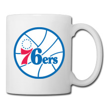 Philadelphia Basketball Logo coffee mug japanese children tazas ceramic tumbler caneca tea Cups