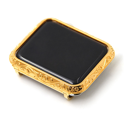 luxury metal watch case for apple Housing cover watch shell 38-42mm (4)