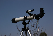 top Refractor Space Astronomical Telescope Spotting scopes new 60mm2.4 inch good quality and free shipping(China)