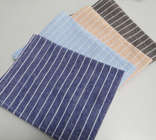 6pcs/lot Table Napkin Waterproof Cotton Fabric Striped Placemat Insulation Mats Table Bowls Mat Coasters Western(China)