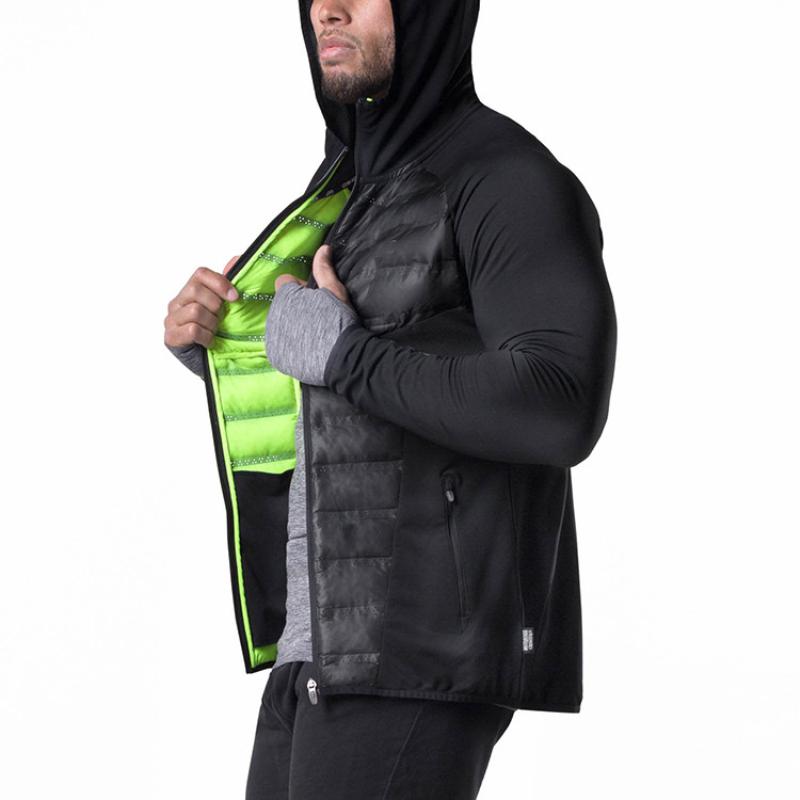 Men Parkas Jackets Coats Hooded Jackets-4