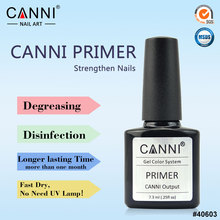 #40603 CANNI  Factory Supply keep gel more longer  no need lamp nail primer Fast Try Primer