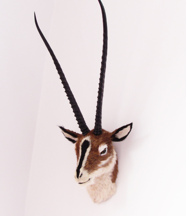 simulation Antelope head model large 57x35cm,plastic&amp;fur wall hangings handicraft toy ,home decoration,Xmas gift w5880<br><br>Aliexpress