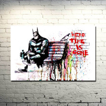 Banksy Graffiti Street Art Silk Fabric Poster 13x20 inches Artwork Print Pictures For Room Wall Decor 002