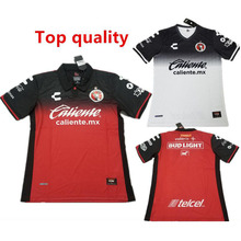 17 18 LIGA MX Xolos de Club Tijuana Soccer Jerseys 2018 Mexico training camisetas futbol shirt Red White football shirts(China)