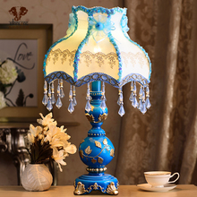 Decoration Art Decoration Art Wanlang table lamp, bedroom, bedside, originality, IKEA, American country, European living room, d