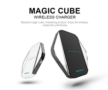 50 pcs,NILLKIN Magic cube wireless charger,QI wireless charging standard,  Transmission distance <6mm,For iphone/samsung~~~~