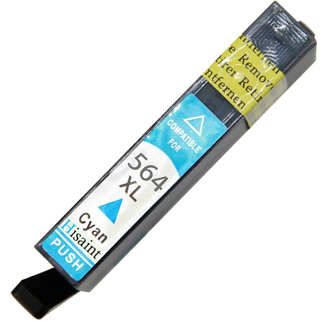 Hisaint Hot Fit for HP 564XL C: 16 ml Kompatibel Tintenpatrone PhotoSmart D7500/B8550/B8500/D5400 Serie Freies Verschiffen<br><br>Aliexpress