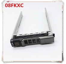 Новый 08 FKXC/8 fkxc 2,5 ''Caddy Ttay для Dell PowerEdge R730 R820 R920 SATA Сервер лоток SAS жесткий диск caddy кронштейн(China)