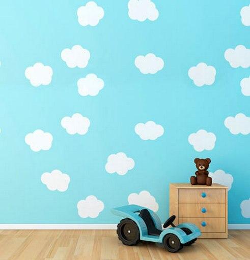 Teddy Bear Toy Car Blue Wallpaper photo backdrop High-grade Vinyl cloth Computer printed children Photography Backgrounds<br><br>Aliexpress