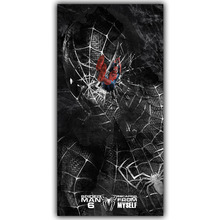 Spider Man DC Comics Superhero Poster Image For Home Decoration Silk Canvas Fabric Print Poster Wallpape DY1023