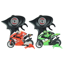 8012 3CH Mini High Speed Remote Control Motorcycle w/ Gyro Red