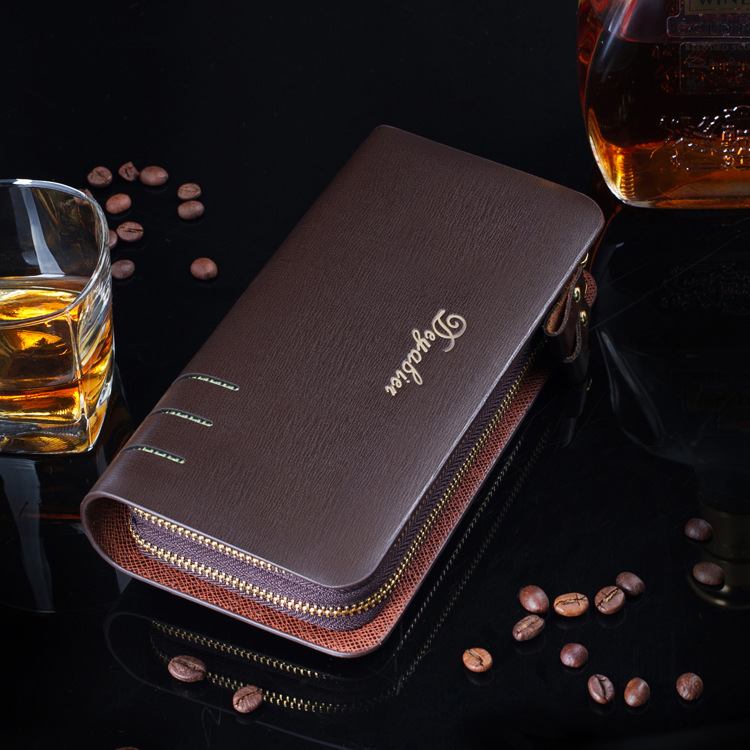 New Brand Designer Men Wallets Fashion Male Clutch Bag PU Leather Business Long Purse Card Holder Purse Carteira Masculina<br><br>Aliexpress
