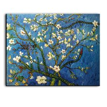 YaSheng Art - Almond Blossom By Van Gogh Oil Paintings Reproduction Modern handpainted Flowers Artwork Pictures on Canvas