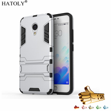 HATOLY Armor Case Meizu M3 Mini Case Shockproof Robot Hybrid Rugged Silicone Rubber Hard Phone Cover Meizu M3 Mini M3S<