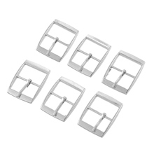 Hoomall 30PCs Metal Shoes Buckles Clips Sewing Buckles For Bags Sewing Accessories 25x19mm Silver Tone