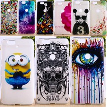 (Not For Old Nexus 6) Soft TPU & Hard Plastic Phone Cover For Huawei Nexus 6P 4G Cases Deluxe Vintage Elegant Cell Phone Parts