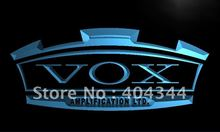 LL180- VOX Amplifier Guitar Bass Band LED Neon Light Sign(China)