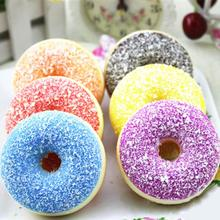 Squishy Squeeze Stress Reliever Soft Colourful Doughnut Scented Slow Rising anti stress Toys gadgets for kids gift #XTT(China)