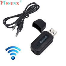 MOSUNX Futural Digital Hot Selling USB Bluetooth Music Receiver Adapter 3.5mm Stereo Audio For iPhone  Wholesale F40