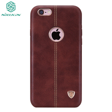 For iPhone 6 Case Nillkin Super Englon series stylish Imported PU Leather Cover For iPhone 6S Mobile Phone Cover bag(China)