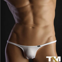 Buy TM bikini sexy gay underwear sexy erotic homens thong gay men underwear mens silk thong tm underwear free delivery
