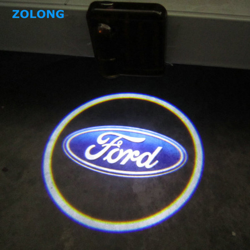 For Ford Focus 2 3 1 Fiesta Mondeo 4 Transit Fusion Kuga Mustang Ranger Ecosport Escort Explorer Ka LED Car Door Auto Logo Light<br><br>Aliexpress