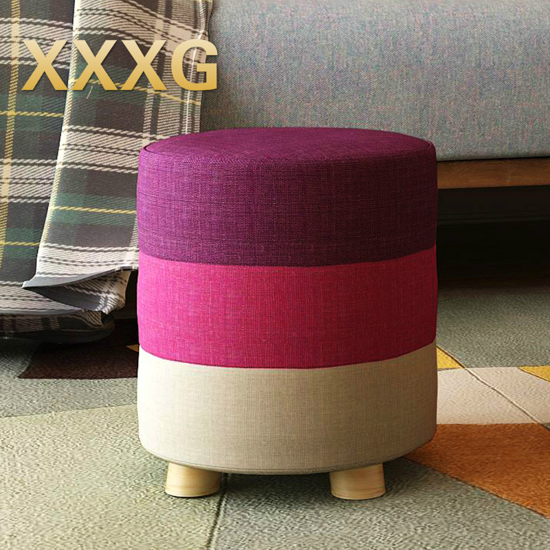 XXXG/The stool art shoes, fashion shoes Children stool wooden sofa Children of children Mignon Creative Sourire Household adornm<br>