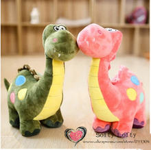 Free shipping one piece big Q version Dinosaur plush toy,children girls boys kids baby shower birthday gift couple wedding love