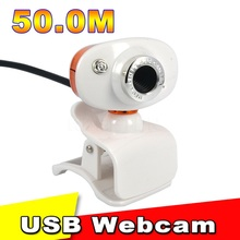 HD 500W Mini USB 50 Mega Pixel Retractable Clip WebCam Web Camera Laptop For MSN for Yahoo for Skype Computer PC Laptop