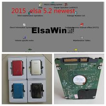 elsawin 5.2 for audi for vw auto software hdd 80gb 2017 newest arrival auto repair software free shipping