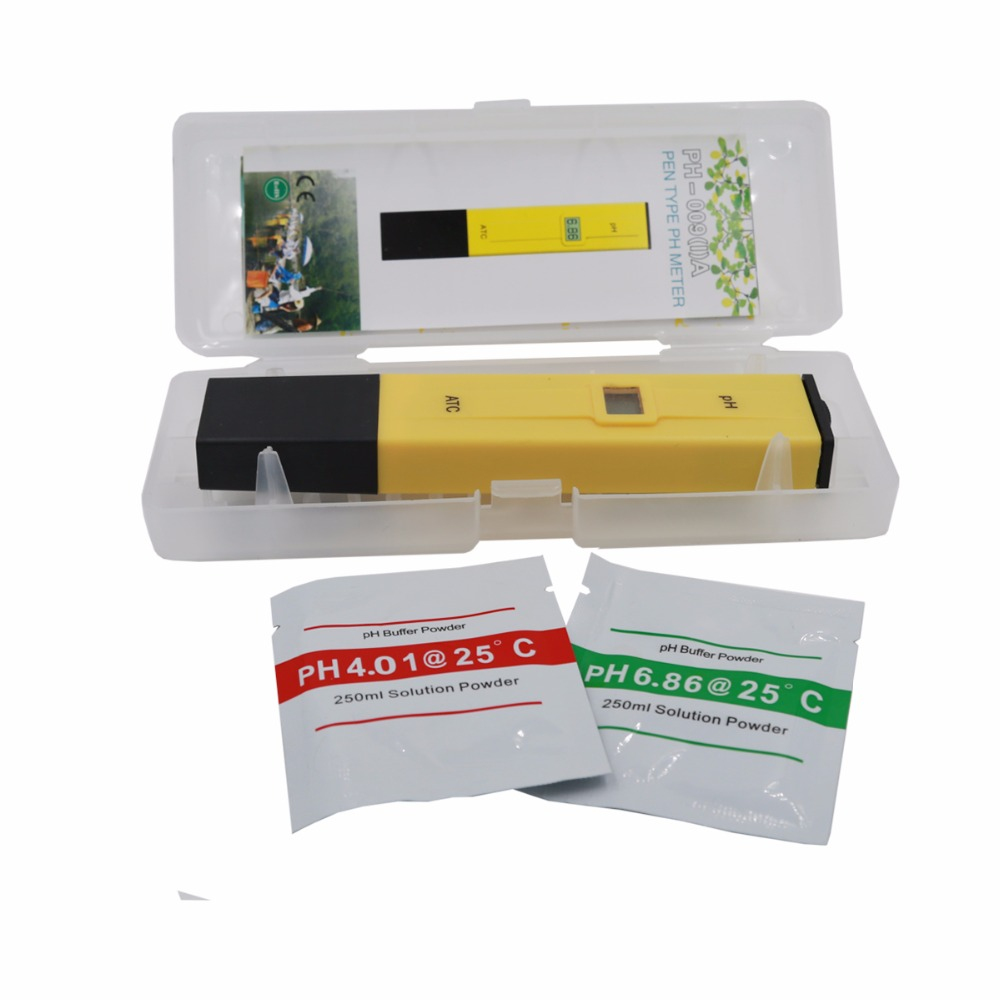by dhl/fedex 100pcs/lot Portable Pen Water PH Meter Tester for Aquarium Pool Water Quality Laboratory with retail box % off 4
