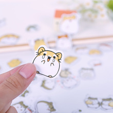 25pcs to 40pcs Cartoon Animals Sticker PVC Cartoon Stickers Diary Sticker Scrapbook Decoration PVC Stationery Stickers Memo Pad(China)
