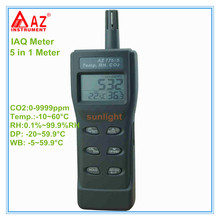Handheld IAQ Meter CO2 Temp. RH DP WB 5 in 1