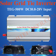 DC 12V 24V to AC 110V 120V 220V 230V 240V Grid Tie Solar Inverter 500W(China)