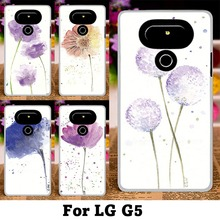 Mobile Phone Cases For LG Optimus G5 G6 Cover F700 H830 H850 H870DS H870 Case Plastic Soft TPU DIY Flowers Bags Skin Housing