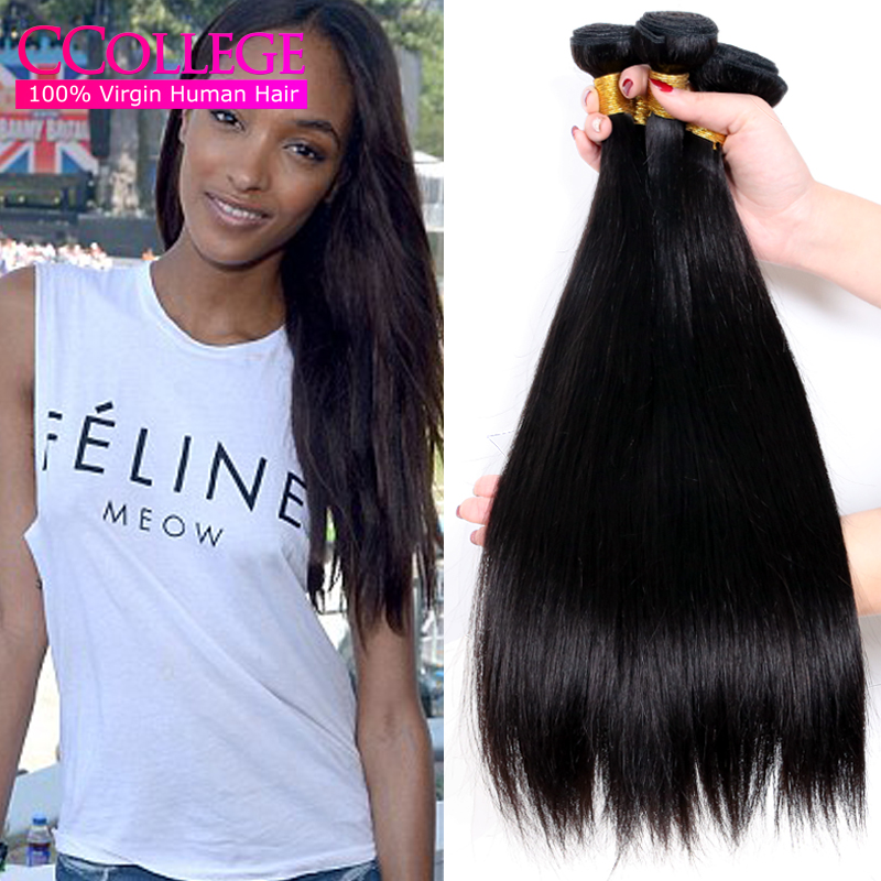 8A Unprocessed Virgin Brazilian Hair Straight Cheap Brazilian Hair 4 Bundles Mink Brazilian Virgin Hair Straight 4Bundle Deals <br><br>Aliexpress