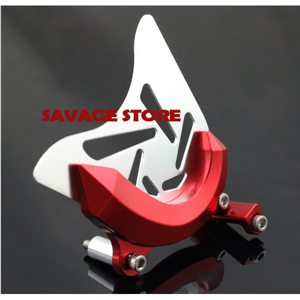 Motorcycle Accessories Front Guard Chain Sprocket Cover For YAMAHA YZF-R3 YZF-R25 2014-2015 Red<br>