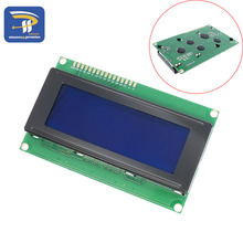 LCD Board 2004 20*4 LCD 20X4 5V Blue screen LCD2004 display LCD module LCD 2004 for arduino(China)