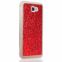 YOCASE Charming Sequins Phone Case Soft Cover Cases For Samsung Galaxy J5 Prime Luxury Elegant Protective Holster For J5 Prime