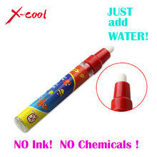 Red Drawing Pen / American Aqua Doodle Magic Pen / Water Drawing marker without cover cap / just add water