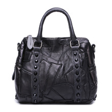 2016 Original Single Foreign Trade Imported Sheepskin Package Ma'am Genuine Leather Handbag Bag Diagonal Trend Leisure Time(China)